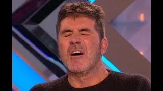 Download UNBELIEVABLE! She Is Changing Clothes In Front of Everyone! (Simon Falling a Sleep)   X Factor UK Video