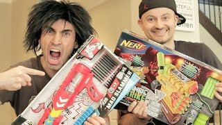 Download NERF vs BOOMCO: Unboxing WAR! Video