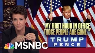 Download Donald Trump Nativist Speech Follows Dark US Pattern | Rachel Maddow | MSNBC Video