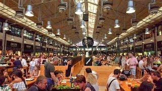 Download Lisbon Walk Tour - Time Out Market Lisboa at Mercado da Ribeira - Portugal Video