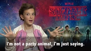 Download Millie Bobby Brown plays 80's ″Would you rather?″ Video