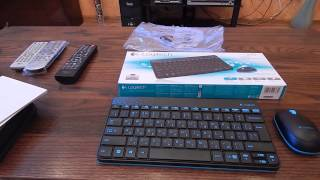Download Обзор беспроводная клавиатура и мышь Logitech Wireless Combo MK240 Video