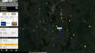 Download Ruta Vuelo Lamia LMI2933 accidente aéreo, equipo de fúlbol Chapecoense Video