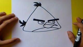 Download Como dibujar el pajaro amarillo paso a paso - Angry birds | How to draw the yellow bird -Angry birds Video