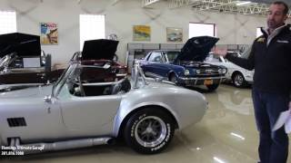 Download 66 Shelby Cobra for sale with test drive, driving sounds, and walk through video Video