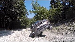 Download Lexus LX 570 vs Range Rover Sport В ГОРАХ. Сочи Video