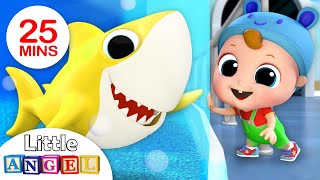 Download Hi Baby Shark, Let's Do the Baby Shark Dance! Nursery Rhymes by Little Angel Video