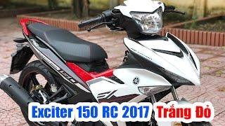 Download Yamaha Exciter 150 RC 2017 Trắng Đỏ ▶ Đánh giá thực tế thay đổi Video