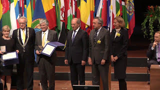 Download Ahmet Üzümcü's Address and Presentation of the 2014 OPCW-The Hague Award Winners Video