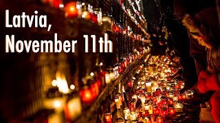 Download November 11th commemoration in Riga, Latvia Video