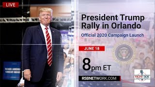 Download 🔴 President Trump Holds MASSIVE Rally in Orlando, FL: 2020 Campaign Launch 6/18/19 Video