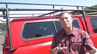 Download Rack-it Modular Truck Rack For Camper Shell or Truck Cap Video
