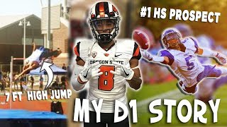 Download My D1 Story! #1 Recruit to Losing 20+ Scholarships, 7ft High Jump, Becoming a YouTuber Video
