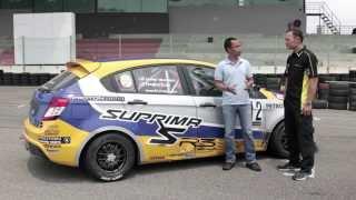 Download Proton Suprima S vs R3 Race Car - Roda Pusing Ujian Prestasi bersama Tengku Djan Ley Video
