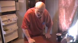 Download Angry grandpa destroys kitchen reversed Video