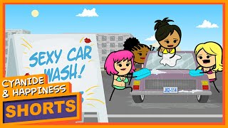 Download Sexy Car Wash - Cyanide & Happiness Shorts Video