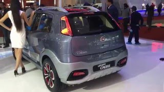 Download Fiat Punto Avventura Urban Cross Concept Video Walkaround from 2016 Auto Expo Video