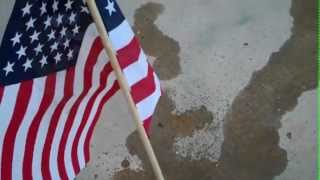Download July 4th 2012 American Flag Burning Video