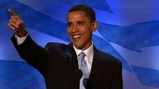Download Obama's 2004 DNC keynote speech Video