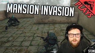 Download MANSION INVASION - PlayerUnknown's Battlegrounds Gameplay #123 (PUBG Third Person Duos w/ 5tat!) Video