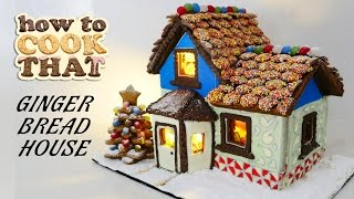 Download GINGERBREAD HOUSE RECIPE How To Cook That Ann Reardon Video