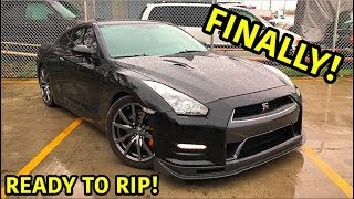 Download Rebuilding A Wrecked 2013 Nissan GTR Part 7 Video