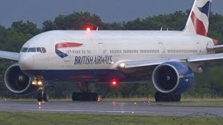 Download [FullHD] British Airways Boeing 777-200(ER) landing & takeoff at Geneva/GVA/LSGG Video