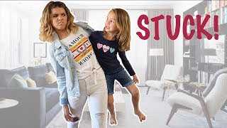 Download SHE'S STUCK! stuck together for 24 hours! spell book series Episode 9 Video
