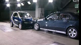 Download ► Smart Fortwo VS Mercedes E-Class - CRASH TEST Video