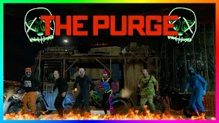 Download GTA ONLINE THE PURGE: INAUGURATION DAY 2017 SPECIAL - PROTECT THE PRESIDENT, SCARY LOCATIONS & MORE! Video