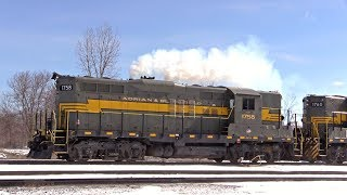 Download EMD GP9s on the Adrian & Blissfield Railroad Video