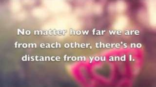 Download No Distance-Jason Chen Lyrics Video