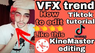 Download Tiktok tutorial | double Face editing | Kinemaster editing tutorial | tiktok trend | tiktok Video