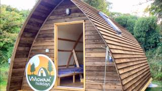 Download Wigwams on Tehidy Holiday Park in Cornwall Video