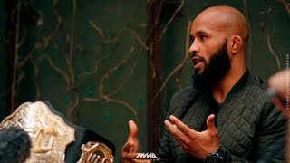 Download Demetrious Johnson UFC on FOX 24 Media Lunch - MMA Fighting Video
