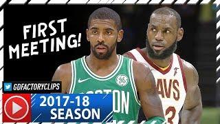 Download LeBron James vs Kyrie Irving EPIC Duel Highlights (2017.10.17) Cavs vs Celtics - FACE TO FACE! Video