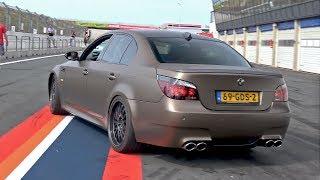 Download BMW M5 V10 w/ Custom X-Pipe + HMS Exhaust System! LOUD REVS! Video