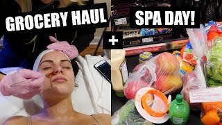 Download GROCERY HAUL+ MY NEW FAVE FACIAL! VLOGMAS DAY 13 Video