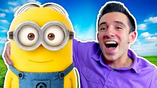 Download I MET A MINION IN REAL LIFE! (From Despicable Me 3!) Video