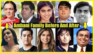 Download Ambani Family Before And After - Unbelievable Transformation Video