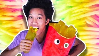 Download DIY GIANT JELLO GUMMY FRENCH FRIES!!! Video