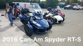 Download 2016 Can-Am Spyder RT-S *First Impressions* Video
