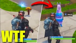Download TIRA UNA LAPA Y SALE UNA LLAMA!! HACK O BUG?? Reaccionando - Fortnite Video