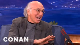 Download Larry David Is OK With Women Who Only Love Fame - CONAN on TBS Video