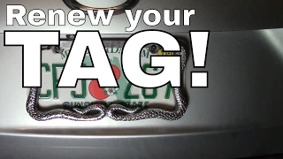 Download Vehicle/Car Tag Registration Renewal-License Plate Tag-How to 🚘 Video