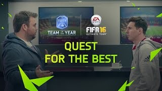 Download FIFA 16 Ultimate Team - Quest for the Best - FUT Team of the Year video Video