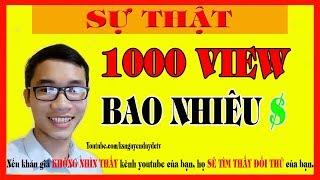 Download 1000 View Trên Youtube Được Bao Nhiêu Tiền? Video