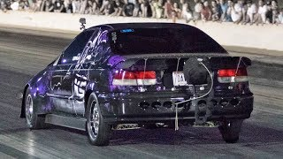 Download 950hp Civic Underdog vs. Nitrous Mustangs! Video