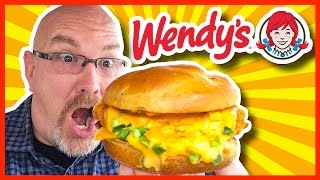 Download Wendy's Jalapeno Fresco Spicy Chicken Sandwich with Ghost Pepper Sauce Video