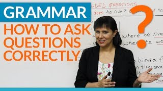 Download Grammar: How to ask questions correctly in English - Embedded Questions Video